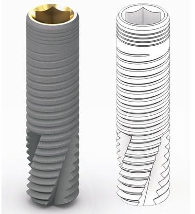 немецкие импланты BioLine Cylindrical CDI